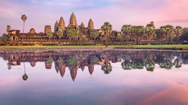 Angkor Wat in Cambodia with Scenic.