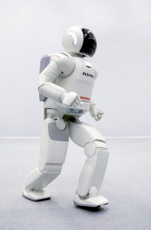 Asimo, the high-tech robot that is coming to Sydney.