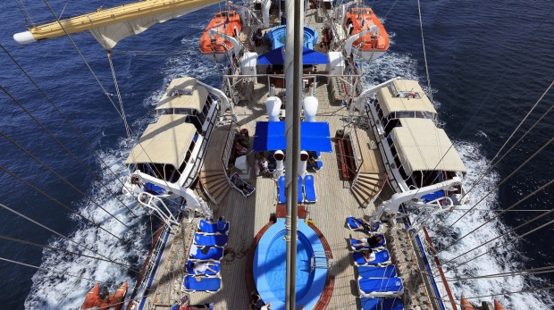Star Clippers Star Flyer Tall Ship Sailing Review Feeling A Bit - Star clipper cruises