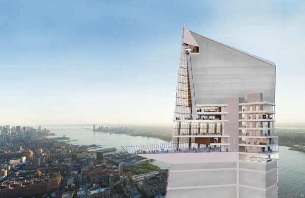 Oopening at Hudson Yards, The Observation Deck will – at 395 metres – be New York's highest outdoor observation deck, ...