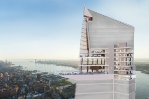 Hudson Yards Observation Desk.
