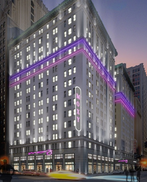 Among new hotels opening in 2017 is the Moxy in May.
