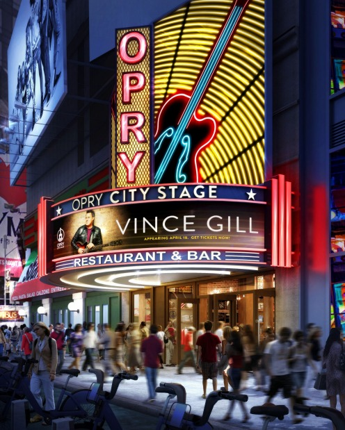 Opry City Stage (Times Square, Manhattan) will bring Nashville's Grand Ole Opry to the Big Apple. The four-storey ...