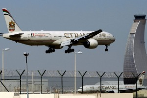 Abu Dhabi International Airport is the based for airline, Etihad Airways.