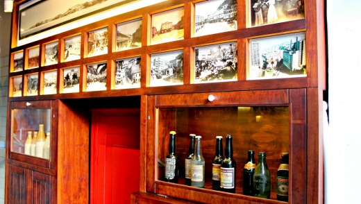 Altamira craft brewery and beer museum, Valpariso, Chile.