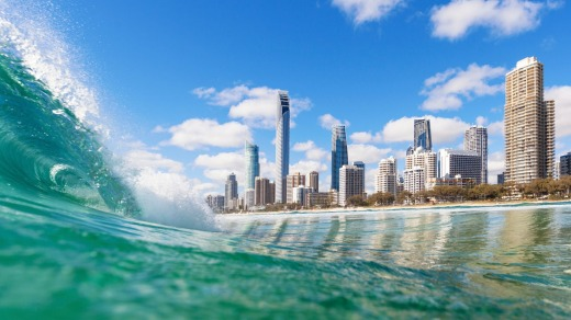 The Surfers Paradise skyline will be the backdrop for a number of events at the Gold Coast 2018 Commonwealth Games.