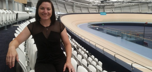 The $59 million Anna Meares Velodrome was named after retired track cyclist, Anna Meares, pictured.