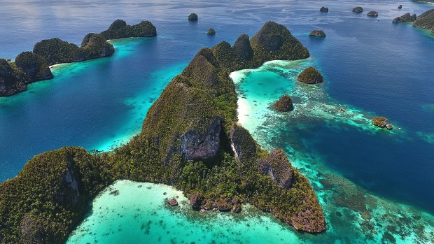 Raja Ampat is a chain of islands in the Birds Head region of West Papua.