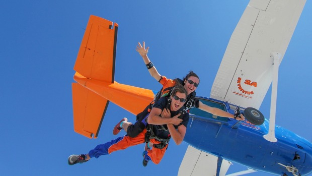 The highest skydive experience in Australia begins at Goolwa Airport.