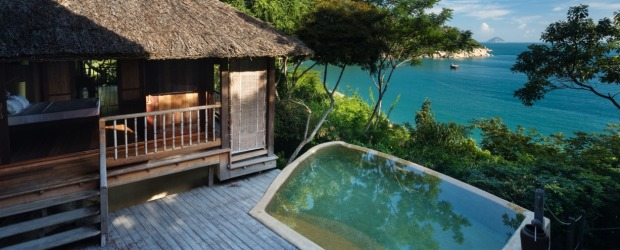Hill top retreat: Six Senses Ninh Van Bay.