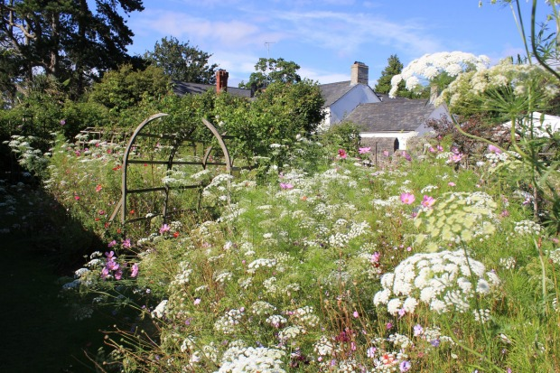 Summer in Britain!  The gardens of St Fagan's Museum of Welsh Life which is on the outskirts of Cardiff and is a ...