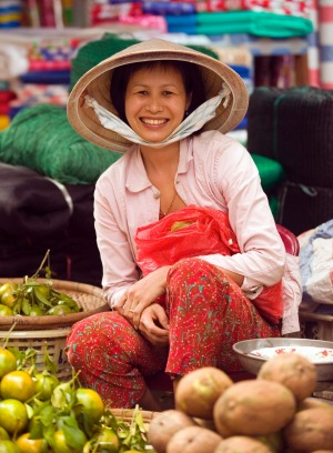 Enjoy fabulous food in Hanoi.