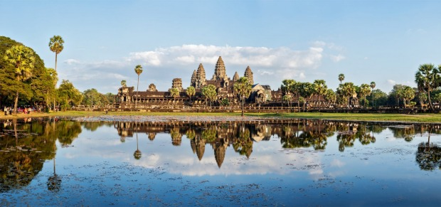 Angkor Wat, Siem Reap, Cambodia has been named the world's most popular landmark for 2017 by Tripadvisor.