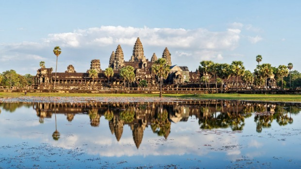 The astounding Angkor Wat.