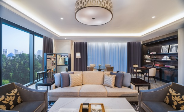 6 ST REGIS, KUALA LUMPUR: With coffee-table books covering everything from rock bands to architecture, a Japanese toilet ...