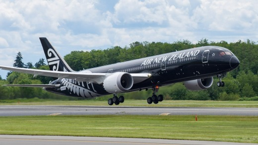 Air New Zealand's Boeing 787-900 Dreamliner.