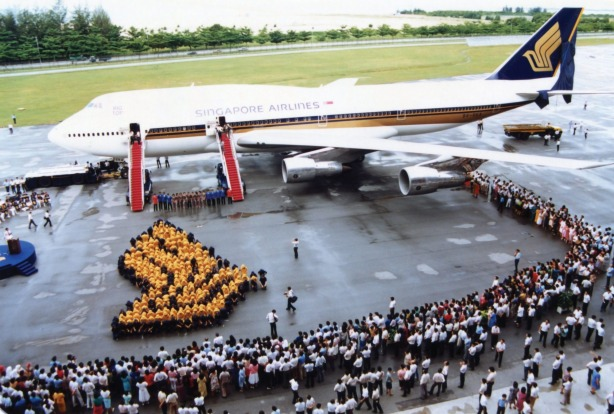 Singapore Airlines\' 50th anniversary: The airline that ...