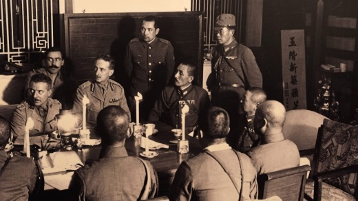 The Japanese occupation of Hong Kong began when the Governor of Hong Kong, Sir Mark Young, surrendered the British Crown ...