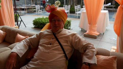 John Peterson enjoyed a fabulous wedding ceremony in Delhi.