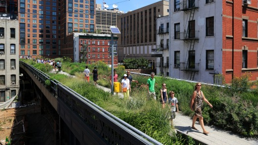Walk the High Line when visiting New York.