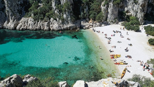 Les Calanques near Cassis in France.