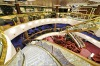 The world's most beautiful cruise ship? The reception area of the MSC Splendida is a showcase of Swarovski crystal - ...