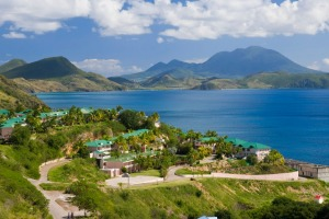 Frigate Bay, southeast of Basseterre, St. Kitts, Leeward Islands, West Indies, Caribbean.