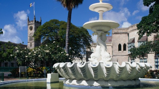 National Heroes Square Bridgetown Barbados.