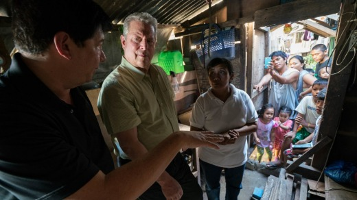 Al Gore in An Inconvenient Sequel: Truth to Power.