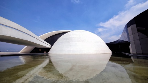 Oscar Niemeyer foundation Building