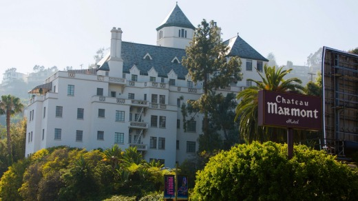 The landmark Hollywood hotel, the Chateau Marmont.