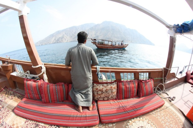 The Strait of Hormuz is one of the busiest waterways in the world and carries 40% of the world's oil.  Musandam is on ...