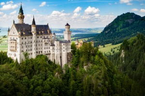TRAVELLER BIG PICTURE competition - NO OTHER USE! 31st March 2017 Neuschwanstein Castle Photo: Matthew Jackson
