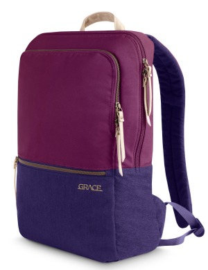 The STM Grace will securely transport and protect a 15-inch laptop as well as a tablet.