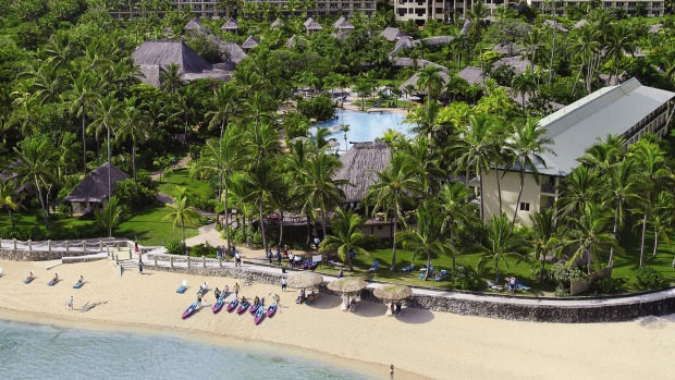 Fiji escape: Outrigger Fiji Beach Resort.