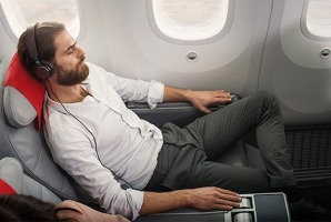 Norwegian's premium economy class offers the best legroom.