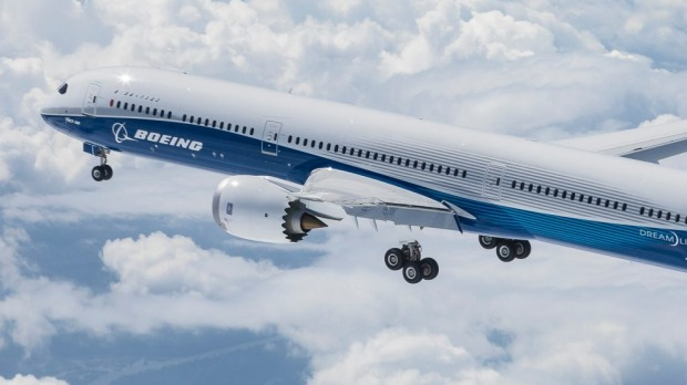 Boeing 787 10 dreamliner makes it first flight sciox Images