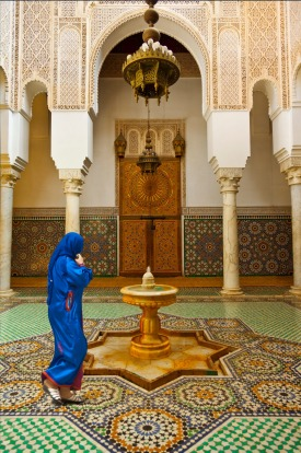 The Tomb of Moulay Ismail in Meknes