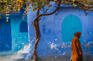 Chefchaouen, Morocco's famed 'blue city', is ideal for solo explorations.