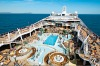 The MSC Splendida's sun deck.