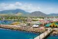 Port Zante in Basseterre town, St Kitts and Nevis.
