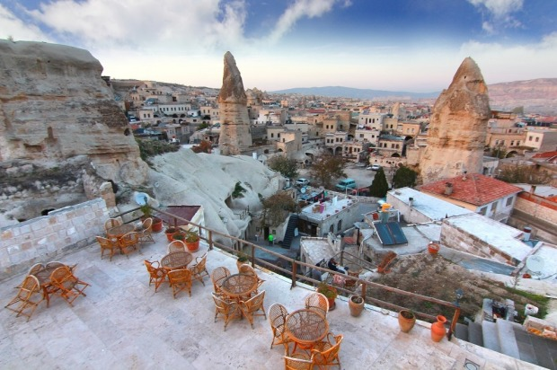 Cappadocia, Turkey: There are buildings in this rocky region of central Turkey that go down to five storeys underground, ...