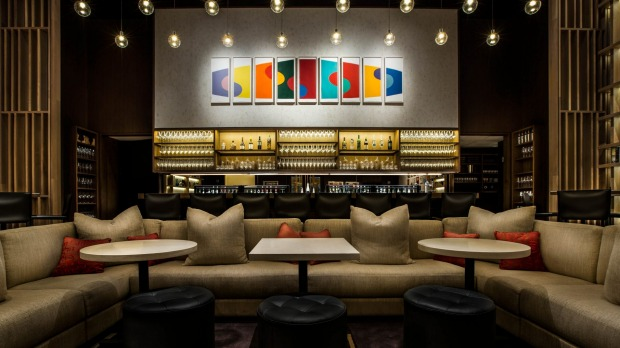At the sophisticated Aldo Sohm Wine Bar your drink will  be served in the most elegant glasses in town.