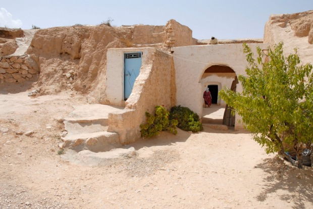 Matmata, Tunisia: Star Wars fans will recognise this troglodyte village from the original movie – Matamata served as the ...