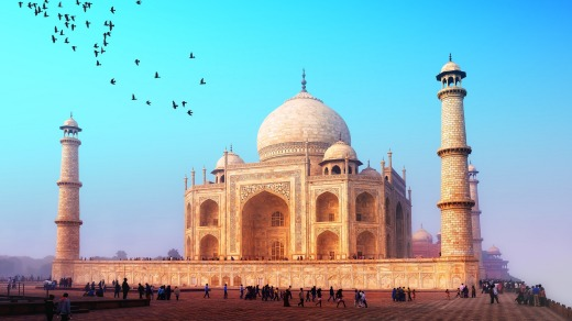 One for the bucketlist, the Taj Mahal, India.