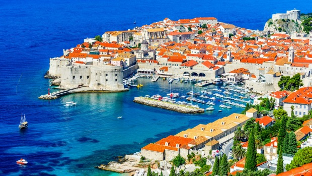 Old town Dubrovnik, Croatia, offers  amazing sites and great food.
