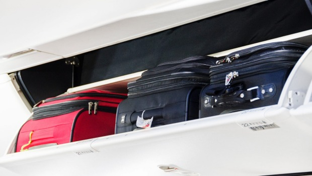 Rules about the weight of carry-on luggage are less stringent in the US than elsewhere.
