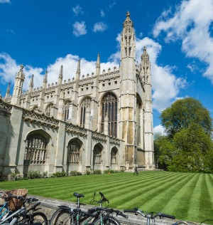 Kings College Chapel in Cambridge.