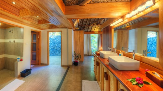 One of the resort's luxurious bathrooms.