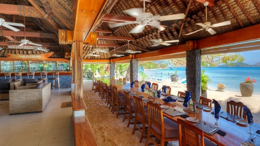 Dining on Turtle Island can be intimate or communal.